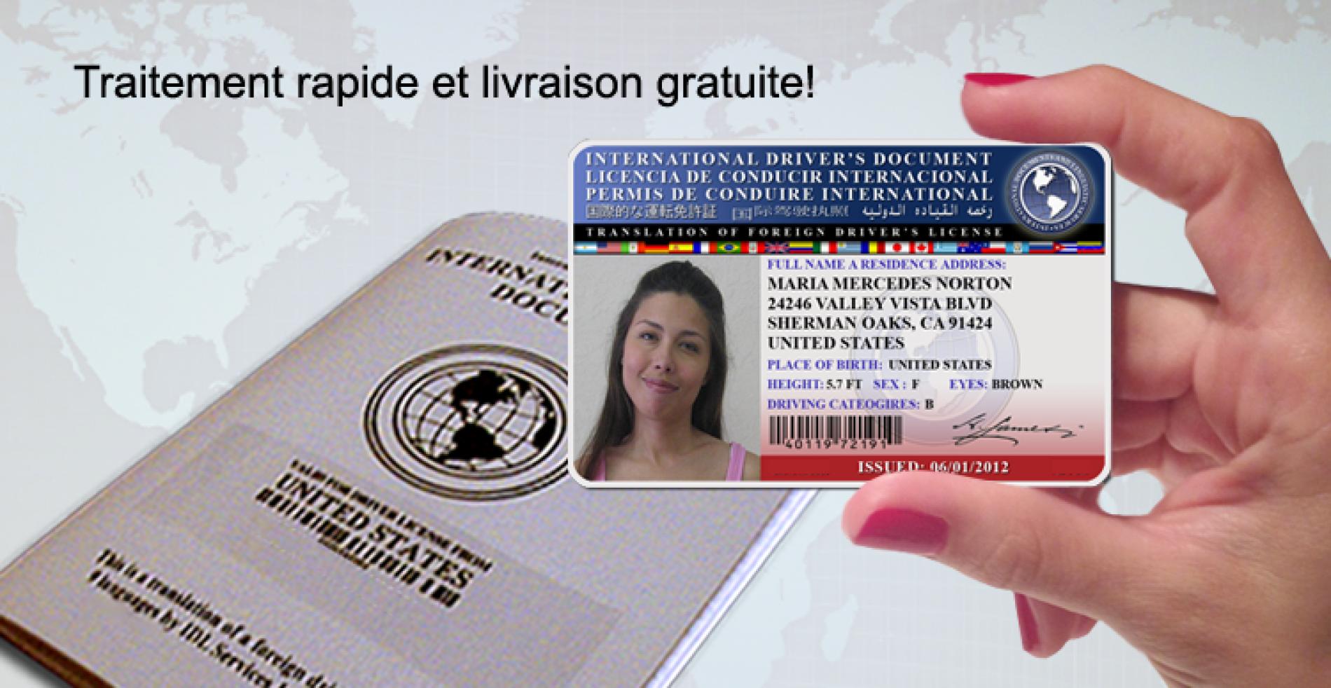 Obtenir un permis de conduire international
