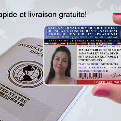 Obtenir un permis de conduire international